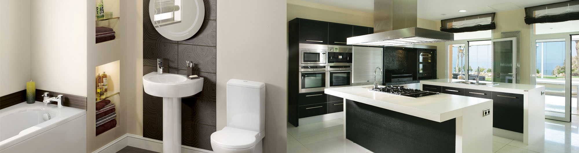 Bath and Kitchen - East Coast Construction and Remodeling Inc.