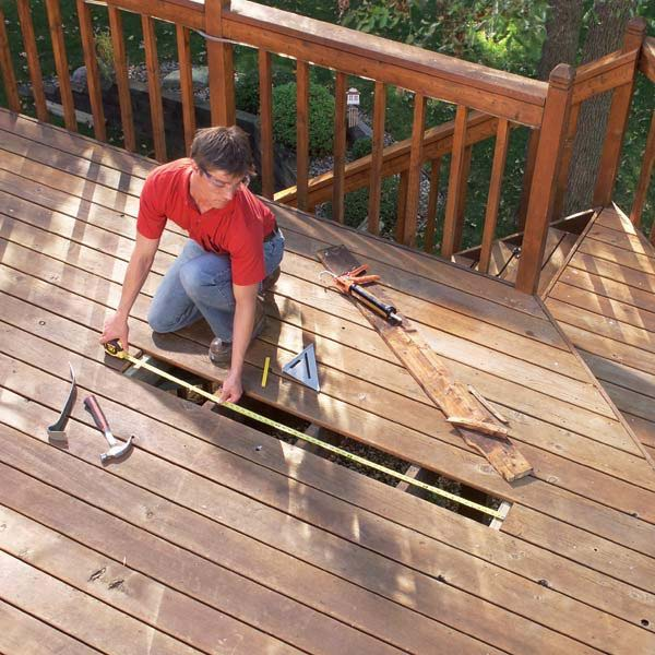 Deck and Patio Repair