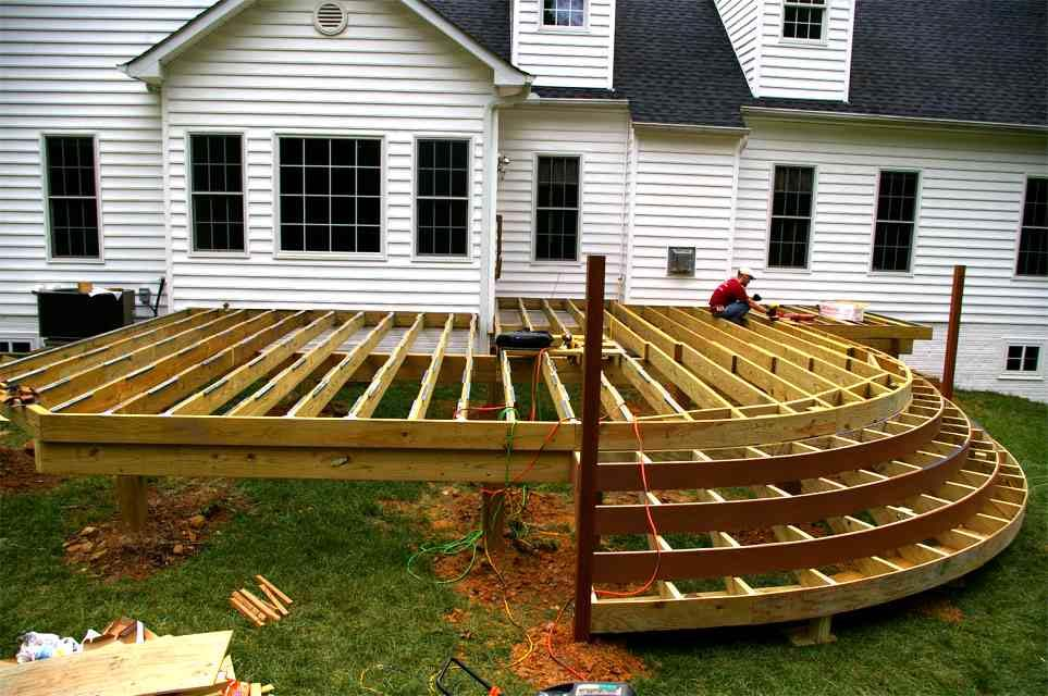 Decks and Patios - East Coast Construction and Remodeling Inc. on Wood Deck Ideas For Backyard id=71018